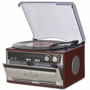 とうしょう  【送料無料】 TT-386W Wカセットレコードプレーヤー (TT386W) 【新品・税込】