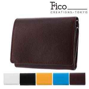 2c295cfaf9f5 フィーコ 三つ折り財布 オルロ メンズ 58886 fico | コンパクト ミニ財布 本革 牛革 イタリアン
