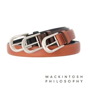 【レビューを書いて+5%】マッキントッシュ フィロソフィー ベルト メンズ 8080118 MACKINTOSH PHILOSOPHY 牛革 本革 レザー 日本製 ブ