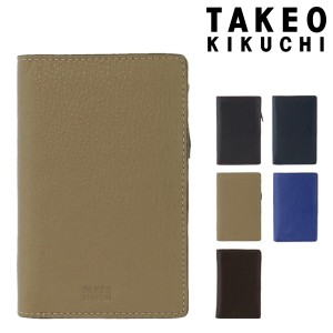 029f2394e425a4 タケオキクチ 二つ折り財布 ミニ財布 ヴィーブ メンズ2012119 TAKEO KIKUCHI ブランド専用BOX付き 本