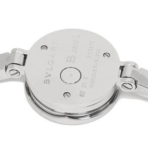 【期間限定ポイント+8倍】BVLGARI 腕時計 レディース ブルガリ BZ23BSS M ブラック シルバー