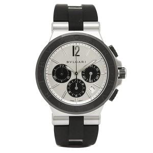 dff305ed70ea ブルガリ 時計 メンズ BVLGARI DG42C6SCVDCH ディアゴノ セラミック クロノグラフ 自動巻き 腕時計 ウォッチ ブラック/シルバー