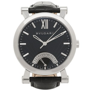 ffcd5da488e0 BVLGARI ブルガリ ソティリオ SB42BSLDR メンズウォッチ 腕時計 シリアル有