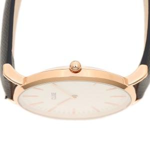 クルース 腕時計 CLUSE CL18029 ミッドナイトブル− ロ−ズゴ−ルド ホワイト