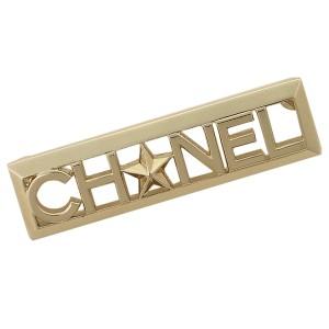 26604ce9a622 シャネル ブローチ アクセサリー レディース CHANEL A95838 Y01060 Z0000 ゴールド
