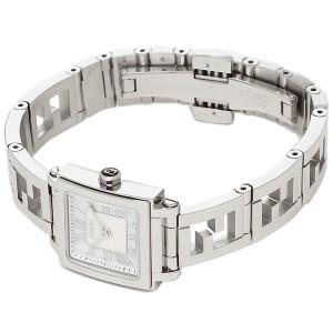 フェンディ 腕時計 レディース FENDI F605024500 ホワイトパール シルバー