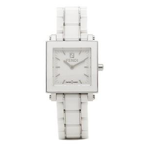 フェンディ 時計 レディース FENDI F622240 CERAMIC ウォッチ ホワイト