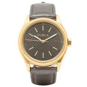 792666b50c FURLA 腕時計 フルラ R4251101501 866599 イエローゴールド/メタリックブラック レディース
