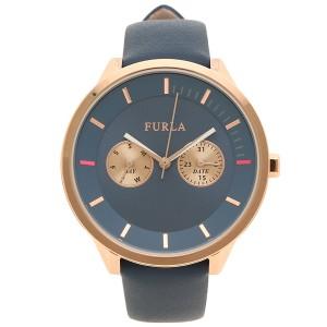 4a827f3b1c08 フルラ 腕時計 レディース FURLA 976475 R4251102549 OR9 ブルー ゴールド