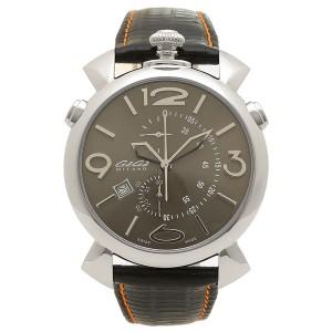 9ea2b6b1f6 ガガミラノ 腕時計 メンズ GAGA MILANO 5097.03BK-NEW-N-ST ブラック オレンジ