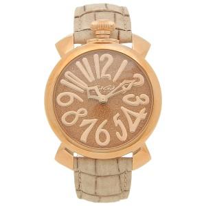 37dd022452 ガガミラノ 腕時計 レディース メンズ GAGA MILANO 5221.03 ベージュ ブラウン