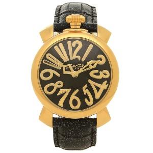 013fcfc9bd ガガミラノ 腕時計 レディース GAGA MILANO 5223.01 ブラック シルバー