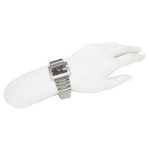 グッチ 時計 レディース GUCCI YA100519 Gレクタングル 腕時計 ウォッチ ブラック/シルバー レディース