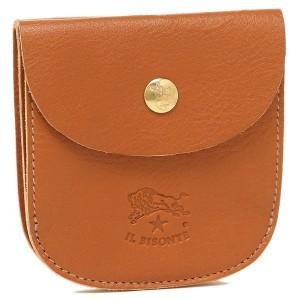 7e0a96544f7f イルビゾンテ IL BISONTE 財布 レディース/メンズ C0405-P 145 2つ折り財布 CARAMEL