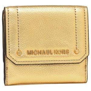 904e312304a2 マイケルコース 折財布 アウトレット レディース MICHAEL KORS 35F8GYEF2M GOLD ゴールド