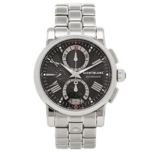 MONTBLANC メンズ 腕時計 モンブラン 102376 ブラック シルバー