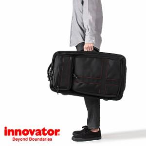 ba7e529f4d 【開催中☆P10~15倍】イノベーター スーツケース Mサイズ ソフト フロントオープン 軽量 innovator 56L INV4W