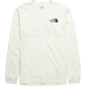 ノースフェイス メンズ シャツ トップス Red Box Long-Sleeve T-Shirt - Men's Vintage White/Burnt Olive Green Woodland Camo Print