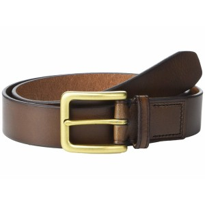 フォッシル メンズ ベルト アクセサリー Morrison Leather Belt Dark Brown