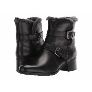 ナチュライザー レディース ブーツ&レインブーツ シューズ Deanne Waterproof Black Leather