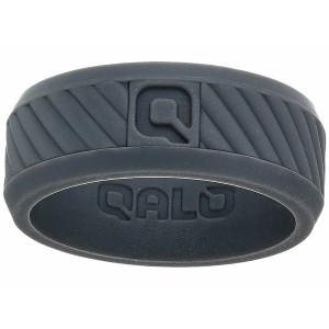 キューエーエルオー メンズ リング アクセサリー Traverse Silicone Ring Charcoal