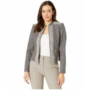 トミー ヒルフィガー レディース コート アウター Contrast Novelty Zip front Jacket Teak/Ivory