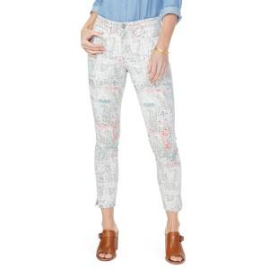 エヌワイディージェイ レディース カジュアルパンツ ボトムス NYDJ Ami Ankle Slit Skinny Jeans (Canyon Clay Paisley Impression) Pais