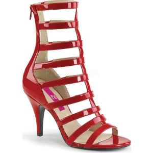 プリーザーピンクレーベル レディース サンダル シューズ Dream 438 Cage Shoe Red Patent