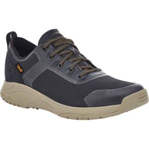 テバ メンズ ブーツ&レインブーツ シューズ Gateway Low Hiking Sneaker Black/Plaza Taupe Recycled Polyester/Suede