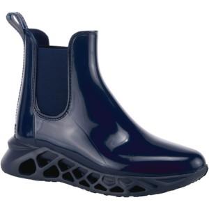 スプリングステップ レディース ブーツ&レインブーツ シューズ Yasmine Waterproof Chelsea Boot Navy PVC