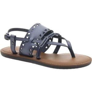 マデライン レディース サンダル シューズ Bon Bon Thong Sandal Blue Slate Synthetic
