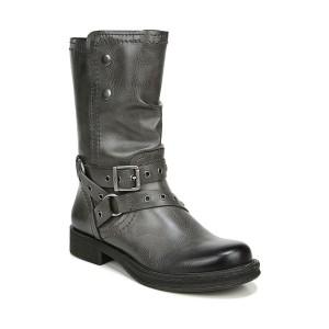 ゾディアック レディース ブーツ&レインブーツ シューズ Faith Mid Shaft Boots Dark Gray Faux Leather