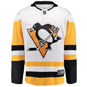ナイキ メンズ ユニフォーム トップス Men's Pittsburgh Penguins Breakaway Jersey White