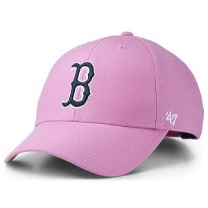 47ブランド メンズ 帽子 アクセサリー Boston Red Sox Pink Series Cap Rose
