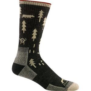 ダーンタフ メンズ 靴下 アンダーウェア ABC Boot Cushion Sock - Men's Black