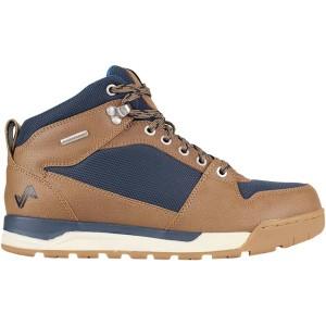 フォーセイク メンズ ハイキング スポーツ Clyde II Hiking Boot - Men's Brown/Navy