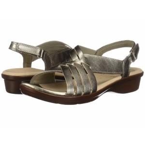 サンダル・ミュール サヌーク Pewter 2 レディース 【Yoga Salty Metallic】 Sanuk シューズ・靴