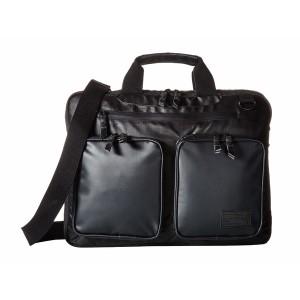 ヘックス メンズ ビジネス系 バッグ Nero Expandable Briefcase Black Ripstop