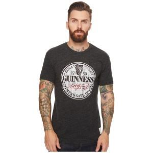 オリジナルレトロブランド メンズ シャツ トップス Short Sleeve Tri-Blend Guinness Tee Streaky Black