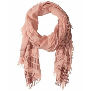 Fair Isle Scarf Pink Multi マフラー・スカーフ・ストール アーバンアウトフィッターズ