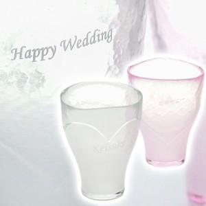 【名入れ ギフト プレゼント】ペアセット ビアグラス 泡立ちペアグラス BeerHeart お祝いギフト 結婚祝いや結婚記念日に