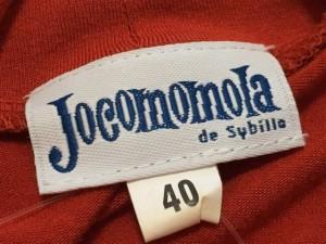 ホコモモラ JOCOMOMOLA 長袖セーター 40 レディース レッド レース/de sybilla【中古】
