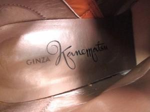 ギンザカネマツ GINZA Kanematsu ショートブーツ 24 レディース ブラウン レザー【中古】