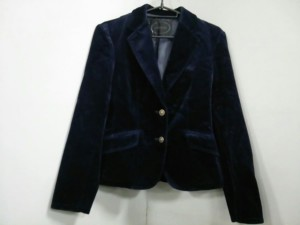 アンタイトル UNTITLED ジャケット サイズ1 S レディース 美品 ダークネイビー【中古】