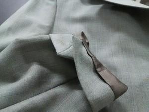 バーニーズ BARNEYSNEWYORK ジャケット サイズ8 M レディース 美品 カーキ 肩パッド【中古】