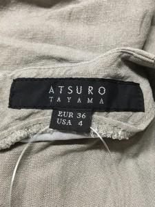 アツロウタヤマ ATSUROTAYAMA ワンピース サイズEUR36USA4 レディース 美品 グレー【中古】