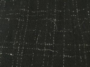ルスーク Le souk ワンピース サイズ36 S レディース 黒 ラメ【中古】