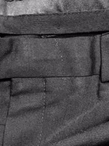 カルバンクライン CK39 シングルスーツ メンズ 美品 黒 肩パッド【中古】
