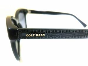 コールハーン COLE HAAN サングラス 黒 プラスチック×金属素材【中古】
