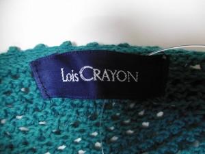 ロイスクレヨン Lois CRAYON 半袖セーター サイズ【M】 レディース グリーン フラワー【中古】